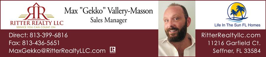 Max Gekko Vallery Masson